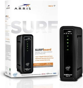 Arris Surfboard SBG10 Modem router combo: Black Friday discount of 8%