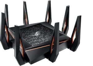 Asus ROG Capture GT-AX 11000 Router (Fastest Wi-Fi 6 router for multiple devices)