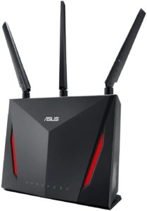 ASUS RT-AC86U Router: The best Asus Routers for gaming for thick walls and 200Mbps