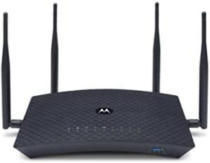 Motorolla AC2600 Router: The best budget router for large homes and excellent speeds