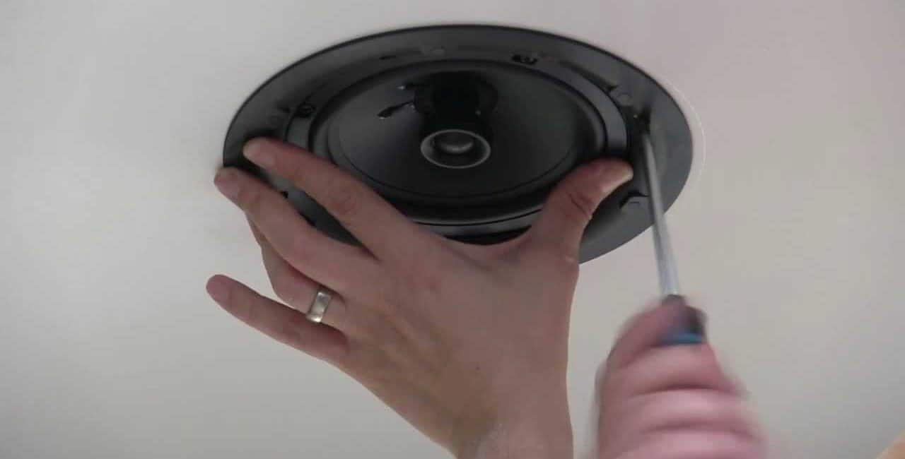 Installing in-ceiling speakers: 10 simple steps on how to install ceiling speakers