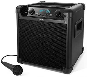 ION Audio Tailgater Portable PA Speaker (iPA77): Outdoor Bluetooth speaker with the longest-lasting battery