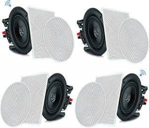 Pyle PDICBT266 In-Ceiling/ In-Wall Speaker System