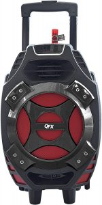 QFX PBX-61081BT/RD Portable Bluetooth tailgate speaker