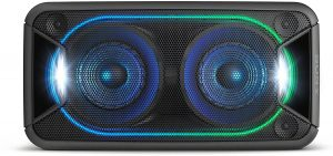Sony GTKXB90 High Power Portable Bluetooth Speaker: one of the best Bluetooth speakers for an outdoor party