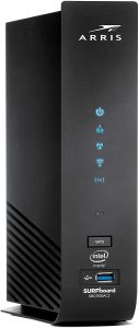 ARRIS Surfboard SBG7600AC2 cable modem router: One of the best modem router combo for Cox