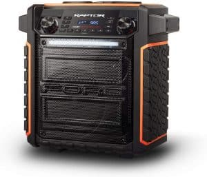 ION audio Raptor tailgate speaker: one of the best tailgate speaker with Bluetooth