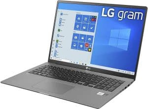 LG Gram 17: One of the Wi-Fi 6 compatible devices
