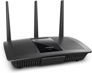 Linksys EA7500 Dual-band Wi-Fi router: one of the best routers for Verizon fios gigabit internet