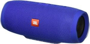 JBL Charge 3 Waterproof Portable Bluetooth speaker (JBLCHARGE3BLUEAM): The best design for waterproof Bluetooth speaker for a boat