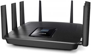 Linksys EA9400 Max-Stream AC5000 MU-MIMO Wi-Fi Triband gigabit router: Best router for extending Wi-Fi