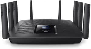 Linksys EA9500 Triband Wi-Fi router (AC5400): one of the best routers for extending Wi-Fi