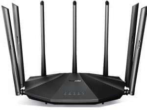 Tenda AC23 WiFi router (AC2100): Best budget router for satellite internet