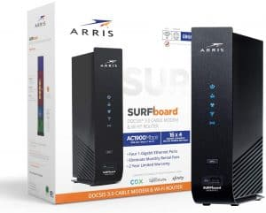 Arris Surfboard SBG6950AC2 Modem router: Best for internet plans of up to 400Mbps