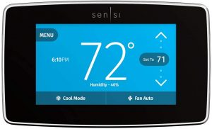 Emerson Sensi Touch ST75 Smart Thermostat: The best budget smart thermostat for Alexa and Google assistant