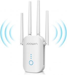 JOOWIN 1200Mbps Wi-Fi Extender Wi-Fi Range Booster: Best for Telus Internet
