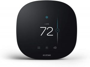 ecobee3 lite Smart Thermostat, Black: best smart thermostat for Alexa and Google assistant
