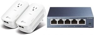 TP-LINK-Powerline Pass Through – TL PA9020: Best pass-through adapter for gaming