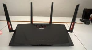 ASUS RT-AC88U Router (The best WiFi router for long-range)