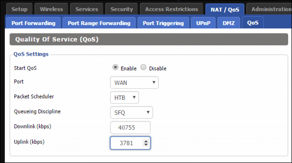 Setting QoS on your router: One of the ways to boost Spectrum and other ISPsWiFi signal