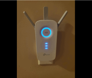 TP-Link AC1750 for Xfinity actual test at night