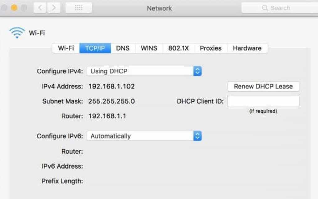How to reset the IP address on a router