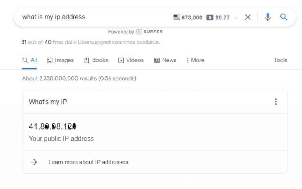 Using what is my public IP address to access your router from the internet even remotely