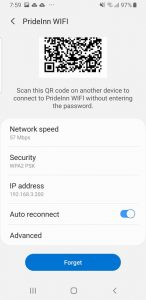 How to check the WiFi settings on your Android device (Smartphone or tablet)